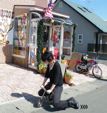 アメリカ雑貨屋サンブリッヂ 通販 ブログ ビンテージ自転車 小さい自転車
