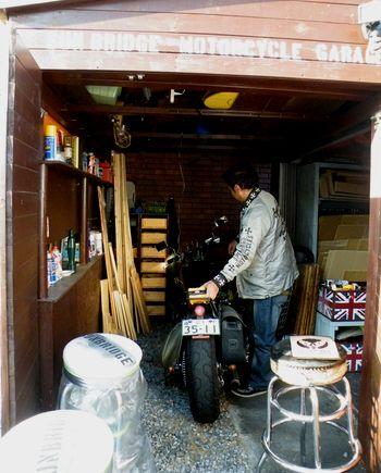 岩手 アメリカz雑貨屋 サンブリッヂ バイクのバッテリー完了