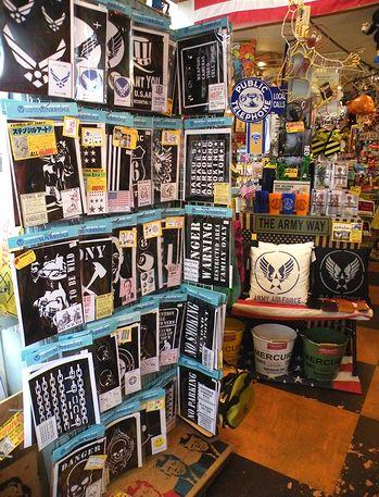 岩手 アメリカ雑貨屋 サンブリッヂ 雑貨通販 ステンシルカスタムカー ステンシルシート