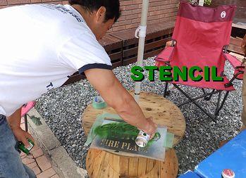 岩手 アメリカ雑貨屋 サンブリッヂ  木製テーブル