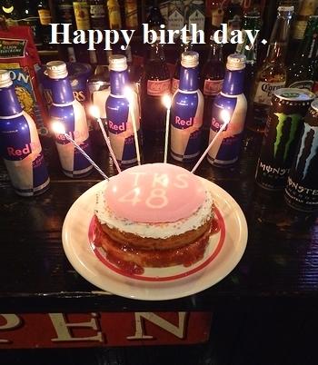 サンブリッヂ誕生日会 手作り誕生日ケーキ