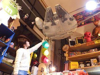 巨大ファルコン号フィギュア スターウォーズ アメリカ雑貨屋 サンブリッヂ アメリカ雑貨
