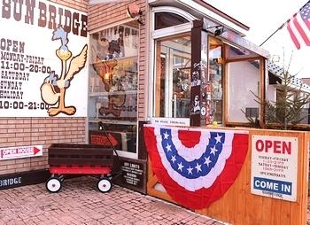 半円アメリカ国旗 バンティング アメリカ雑貨屋 サンブリッヂ 岩手雑貨屋