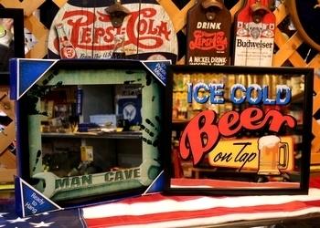 フォードパブミラー ガレージミラー アメリカ雑貨屋 サンブリッヂ 岩手雑貨屋