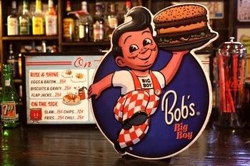 ビッグボーイ看板 BIGBOYエンボス看板 アメリカ雑貨屋 サンブリッヂ 雑貨通販