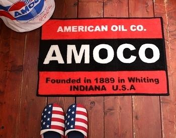アモコマット AMOCOフロアマット アメリカ雑貨屋 サンブリッヂ 岩手雑貨屋