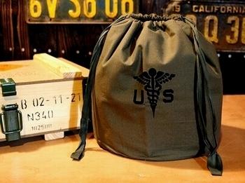 USホスピタルパーソナルバッグ ミリタリー雑貨 サンブリッヂ 岩手雑貨屋