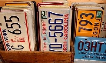 アメリカナンバープレート NYナンバー  アメリカ雑貨屋 サンブリッヂ ブリキ看板通販
