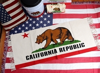 カリフォルニアキッチンマット カリフォルニアマット CALIFORNIA  アメリカ雑貨屋 SUNBRIDGE 岩手雑貨屋