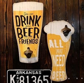ビール看板栓抜き