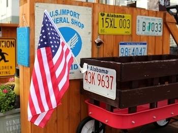ラジオフライヤー カーフラッグ ミニアメリカ国旗 アメリカ雑貨屋 SUNBRIDGE アメリカ雑貨通販