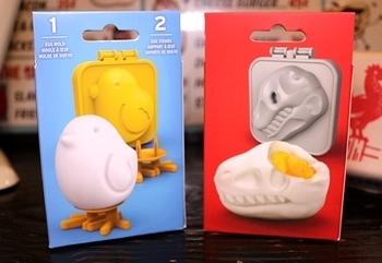 ひよこのゆで卵 恐竜のゆで卵 エッグモールド Fred<div><br></div>アメリカ雑貨屋 サンブリッヂ キッチン雑貨通販
