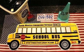 スクールバスロングマット アメリカスクールバス アメリカ雑貨屋 SUNBRIDGE