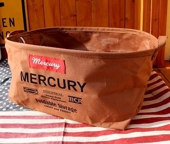 マーキュリーオーバルバケツMサイズ MERCURY アメリカ雑貨屋 SUNBRIDGE