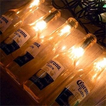 コロナボトルガーランドライト  CORONA アメリカ雑貨屋 SUNBRIDGE