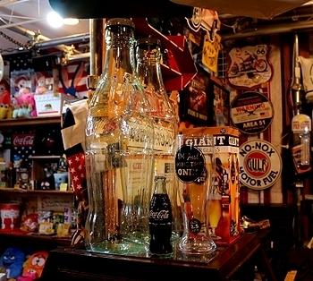 コカ・コーラビッグボトル貯金箱 びんコーラバンク  アメリカ雑貨屋 SUNBRIDGE