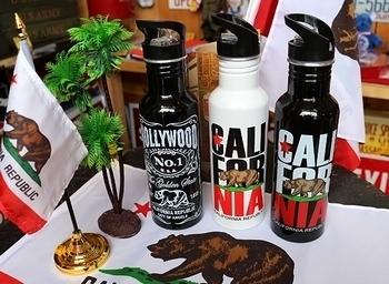 カリフォルニアタンブラー ストロー付き水筒 LA買い付け アメリカ雑貨屋 SUNBRIDGE