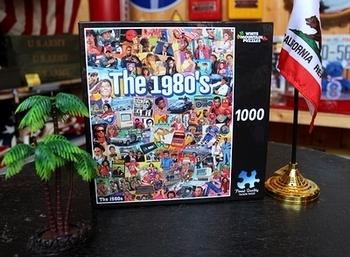 1980年代1000ピースパズル アメリカアーティスト LA買付け アメリカ直輸入 アメリカ雑貨屋 SUNBRIDGE