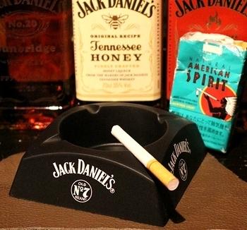 ジャックダニエル灰皿 ノベルティ灰皿 JackDaniels アメリカ雑貨屋 SUNBRIDGE