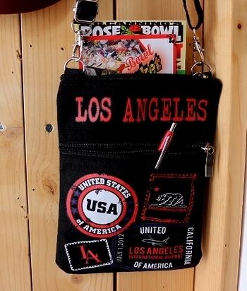 カリフォルニアポシェット ショルダーミニバッグ  CALIFORNIA REPUBLIC アメリカ雑貨屋 SUNBRIDGE