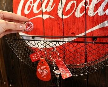 コカコーラ栓抜き看板 コーラ栓抜き コーラパブサイン アメリカ雑貨屋サンブリッヂ SUNBRIDGE 岩手雑貨屋 アメリカ雑貨通販