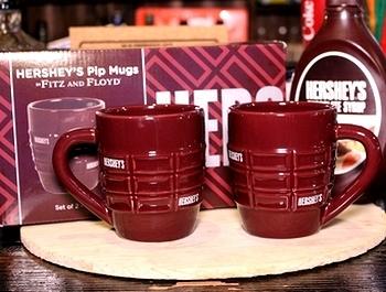 ハーシーズマグカップ  ハーシーズチョコ雑貨 アメリカ雑貨屋サンブリッヂ SUNBRIDGE 岩手雑貨屋 アメリカ雑貨通販