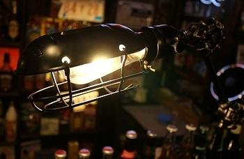エジソンスタンドライト エジソンランプ アメリカ雑貨屋サンブリッヂ SUNBRIDGE 岩手雑貨屋