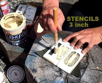 ステンシルシート ステンシルガーランド  アメリカ雑貨屋 サンブリッヂ SUNBRIDGE 岩手雑貨屋 アメリカン雑貨