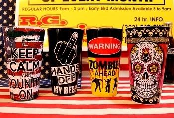 ジャンボプラカップ アメリカンBBQコップ アメリカ雑貨屋 サンブリッヂ SUNBRIDGE 岩手雑貨屋