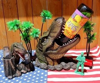 恐竜ワインホルダー 恐竜ソルト&ペッパー ティラノザウルスワインボトルホルダー ジュラシックパーク ジュラシックワールド アメリカ雑貨屋 SUNBRIDGE 岩手雑貨屋