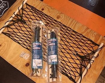 デコラティブミニハンモック ハンモック アメリカ雑貨屋サンブリッヂ SUNBRIDGE 岩手雑貨屋