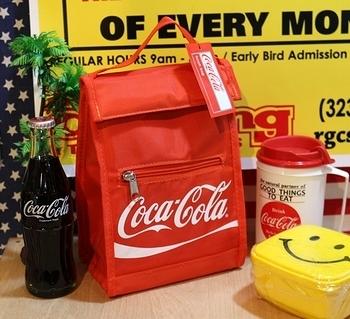 コカ・コーラクーラーランチバッグ コーラ保冷バッグ 保冷ランチバッグ アメリカン雑貨 アメリカ雑貨屋 SUNBRIDGE 岩手 矢巾雑貨屋
