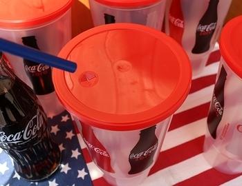 コカコーラカップ プラカップ アメリカ雑貨屋 サンブリッヂ SUNBRIDGE 岩手雑貨屋