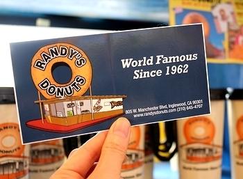 Randy's Donuts ランディーズドーナツステッカー アメリカ雑貨屋 サンブリッヂ SUNBRIDGE 岩手雑貨屋