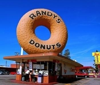 Randy's Donuts ランディーズドーナツタンブラー アメリカドーナツ  アメリカ雑貨屋 サンブリッヂ SUNBRIDGE 岩手雑貨屋