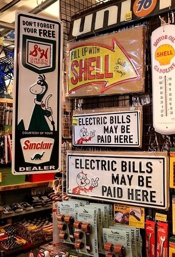シンクレア看板 レディキロワット看板 世田谷ベース看板通販 アメリカ雑貨屋 SUNBRIDGE 岩手雑貨屋