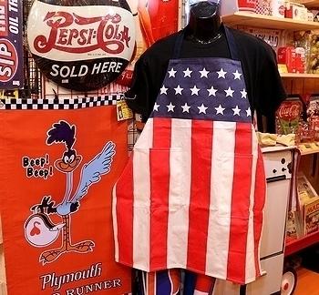 星条旗エプロン USA国旗プロン アメリカ雑貨屋 SUNBRIDGE 岩手 盛岡雑貨
