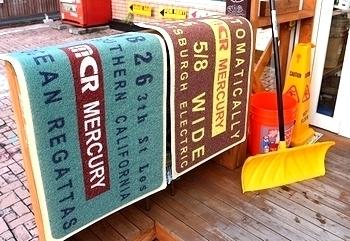 マーキュリーマット マーキュリー玄関マット PVCマット アメリカ雑貨屋 サンブリッヂ SUNBRIDGE 岩手雑貨屋 アメリカ雑貨通販