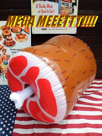 アメリカ 雑貨屋 SUNBRIDGE 肉 MEET ミート バルーン 風船