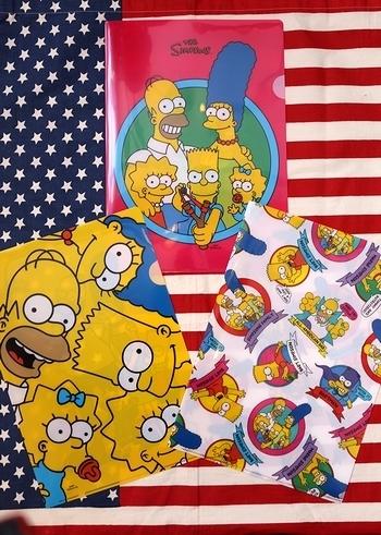 シンプソンズクリアファイル アメキャラクリアファイル THE SIMPSONS アメリカ雑貨屋 SUNBRISGE