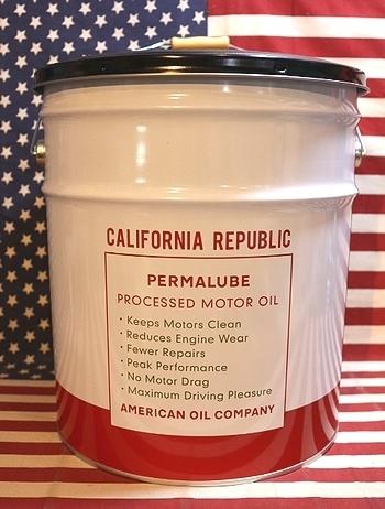 カリフォルニアオイル缶 座れるオイル缶 アメリカ雑貨屋 SUNBURIDGE