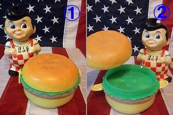 アメリカ雑貨屋 サンブリッヂ 商品ブログ ハンバーガー ランチボックス