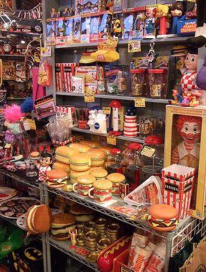 アメリカ雑貨屋 サンブリッヂ 商品ブログ ハンバーガー ランチボックス マクドナルド
