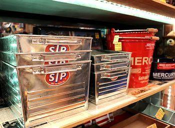 STPボックス アメリカンブリキボックス アメリカ雑貨屋 サンブリッヂ SUNBRIDGE 岩手雑貨屋 アメリカ雑貨通販