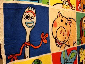 トイストーリーブランケット トイストーリー4ブランケット アメリカ雑貨屋 サンブリッヂ SUNBRIDGE 岩手雑貨屋 アメリカ雑貨通販