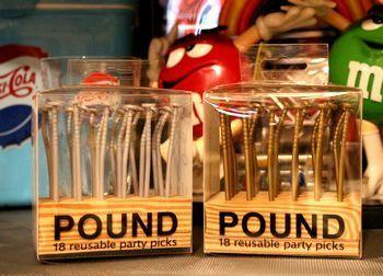 釘爪楊枝 釘パーティピック アメリカ雑貨屋 サンブリッヂ SUNBRIDGE 岩手雑貨屋 アメリカ雑貨通販
