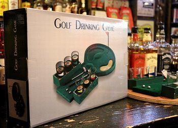 ゴルフ ショットグラスゲーム アメリカ雑貨屋 サンブリッヂ SUNBRIDGE 岩手雑貨屋 アメリカ雑貨通販