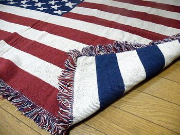 アメリカ雑貨屋SUNBRIDGE サンブリッヂブログ 雑貨通販 USARUG 星条旗キッチンマット 星条旗マット