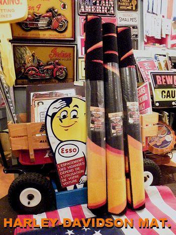 アメリカ雑貨屋 サンブリッヂ 雑貨通販 ブログ ハーレーダビットソン インテリアマット