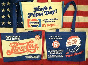 岩手 アメリカ雑貨屋 サンブリッヂ 雑貨通販 ペプシショッピングバッグ エコバッグ